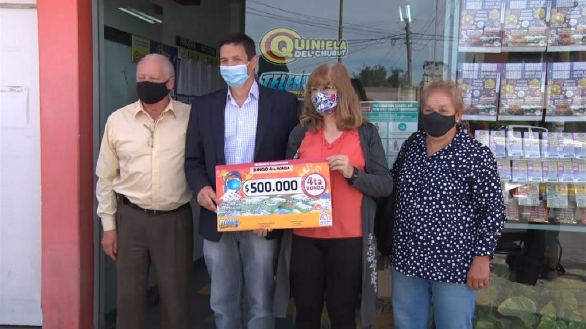 El Telebingo entregó un premio de medio millón de pesos a una jubilada.