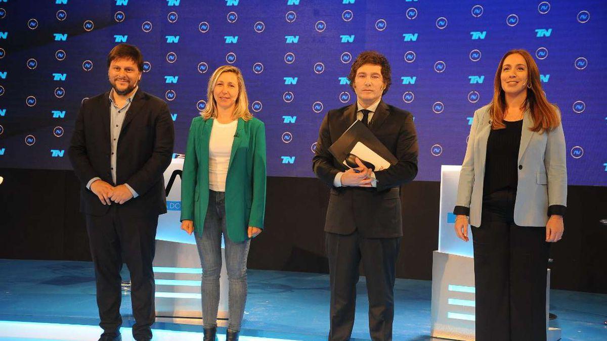 Candidatos de la Ciudad de Buenos Aires tuvieron un tenso debate
