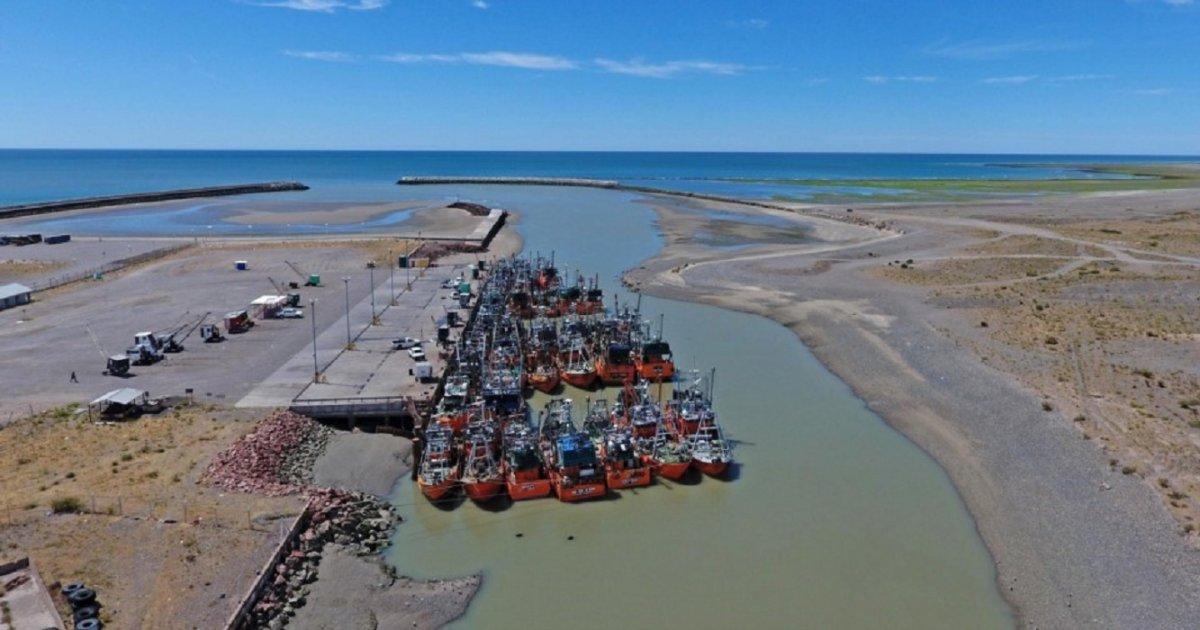 Rawson avanza en la obra de dragado del puerto