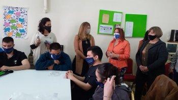 Provincia participó de actividades por el Día Mundial del Bastón Blanco