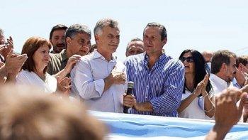 Macri en Dolores apenas convocó a un puñado de personas